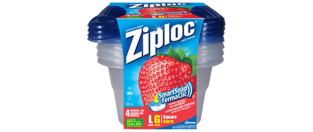 Ziploc containers coupon